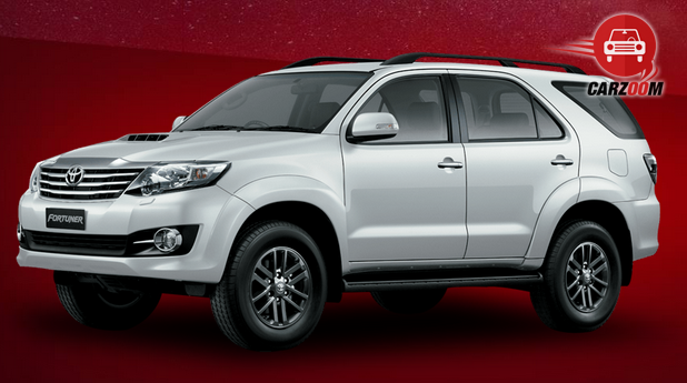 Toyota Fortuner 4 Wheel Drive AT - DieselPrice in India
