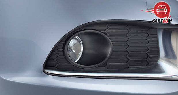 Maruti Suzuki Refreshed Swift Dzire Exteriors Front fog lamps with bezel ornament Chrome