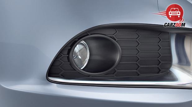 Maruti Suzuki Refreshed Swift Dzire Exteriors Front fog lamps with bezel ornament Chrome