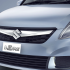 Maruti Suzuki Refreshed Swift Dzire Exteriors Front grill Chrome