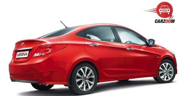 New 4S Fluidic Hyundai Verna Exteriors Back and Side View