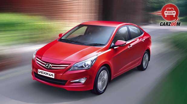 New 4S Fluidic Hyundai Verna Exteriors Overall