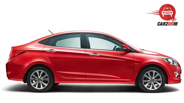 New 4S Fluidic Hyundai Verna Exteriors Side View