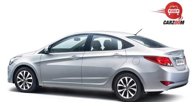 New 4S Fluidic Hyundai Verna Exteriors Back and Front View