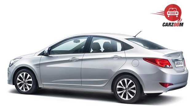 New 4S Fluidic Hyundai Verna Exteriors Back and Front View