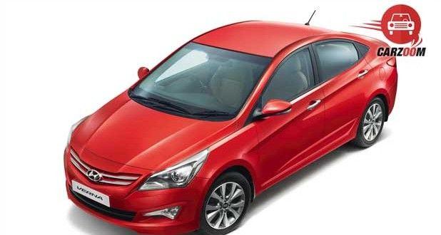 New 4S Fluidic Hyundai Verna Exteriors Top View