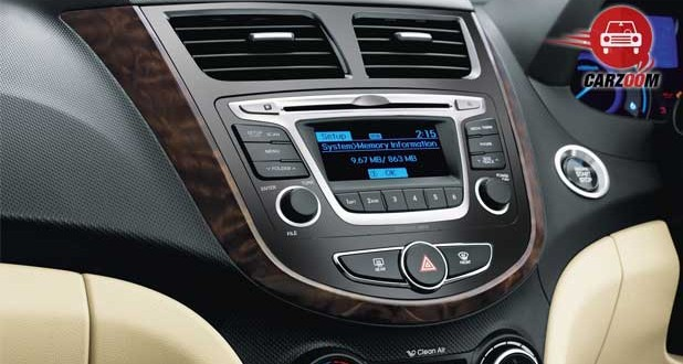 New 4S Fluidic Hyundai Verna Interiors Dashboard