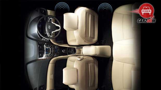New 4S Fluidic Hyundai Verna Interiors Seats Top View