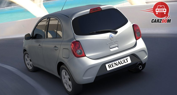 Renault Pulse Exteriors Side and Back View