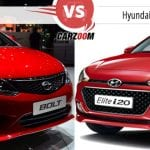 Tata Bolt vs Hyundai Elite i20