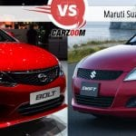 Tata Bolt vs Maruti Suzuki Swift