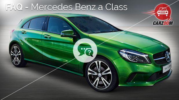 Mercedes Benz A-class FAQ