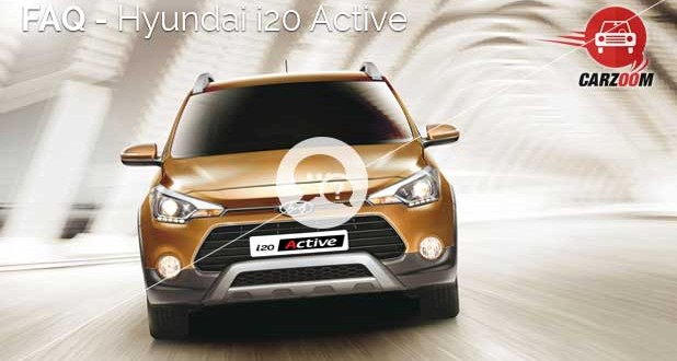 FAQ Hyundai i20 Active