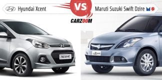 Hyundai Xcent vs Maruti Swift Dzire