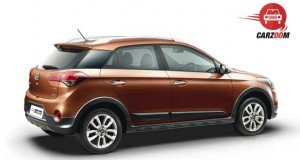 Hyundai i20 Active Exteriors Back and Side View