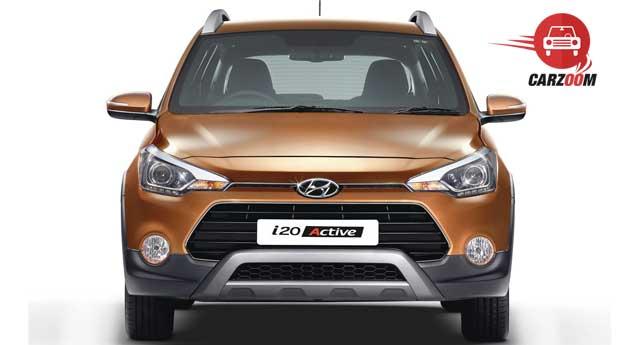 Hyundai i20 Active Exteriors Front View
