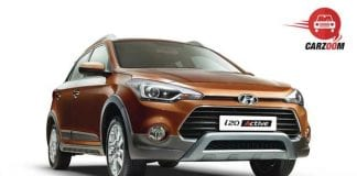 Hyundai i20 Active Exteriors Front and Side View