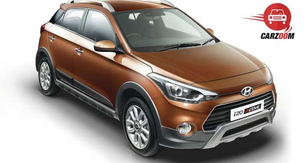 Hyundai i20 Active Exteriors Side and Front View