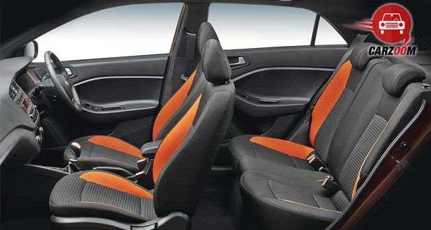 Hyundai i20 Active Interiors Seats View