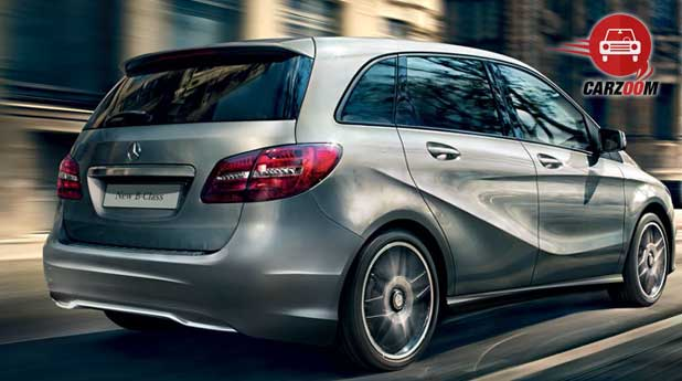 Mercedes Benz B Class Exteriors Back and Side View