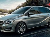 Mercedes Benz B Class Exteriors Front and Side View