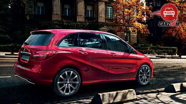 Mercedes Benz B Class Exteriors Side and Back View