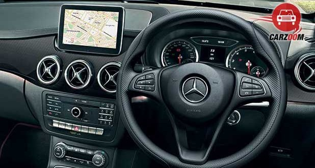 Mercedes Benz B Class Interiors Dashboard
