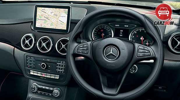 Mercedes Benz B Class Interiors Dashboard
