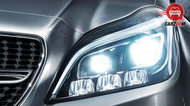 Mercedes-Benz CLS 250 CDI Coupe Headlamps