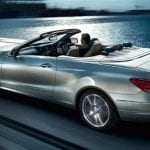 Mercedes-Benz E400 Cabriolet Exteriors Back View