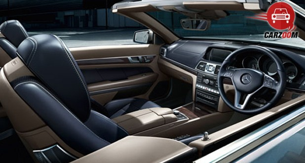 Mercedes-Benz E400 Cabriolet Interiors Overall