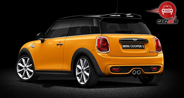 Mini Cooper S Exteriors Back Overall View
