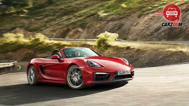 Porsche Boxster GTS Exteriors Front and Side View