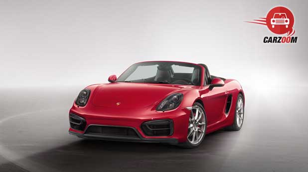 Porsche Boxster GTS Exteriors Front  View
