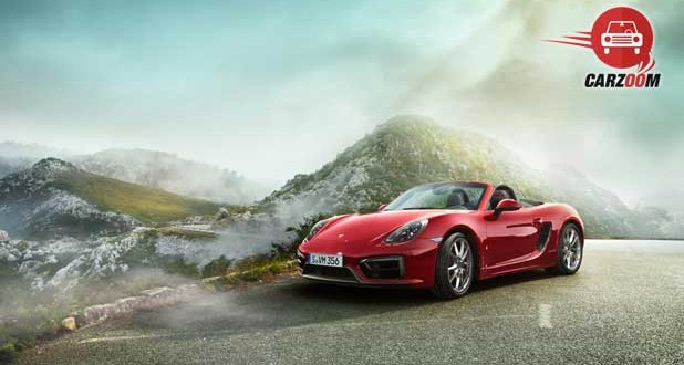 Porsche Boxster GTS Exteriors Side and Front View
