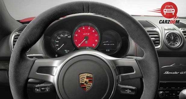 Porsche Boxster GTS Interiors Dashboard