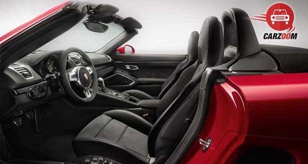 Porsche Boxster GTS Interiors Seats View