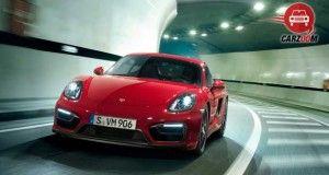 Porsche Cayman GTS Exteriors Front View