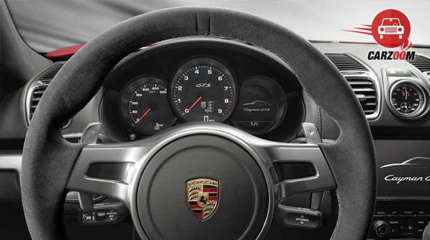 Porsche Cayman GTS Interiors Dashboard