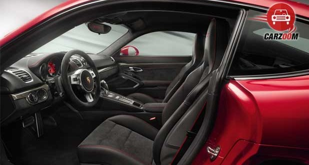 Porsche Cayman GTS Interiors Seats View