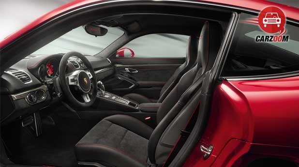 Porsche Cayman GTS Interiors Seats View