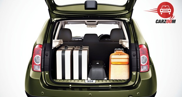 Renault Duster Exteriors Bootspace