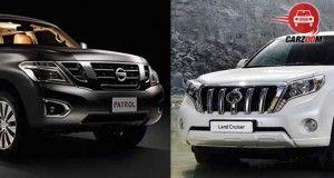 Toyota Land Cruiser Rival Nissan Patrol