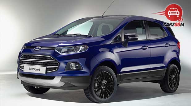 Ford EcoSport Front and Side View