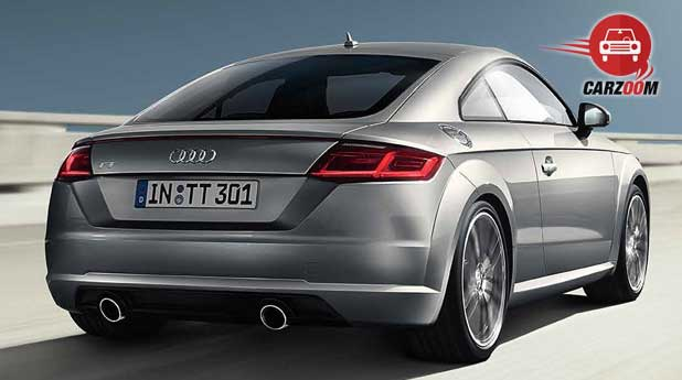 Audi TT Coupe Exteriors Back View