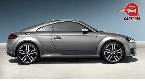 Audi TT Coupe Exteriors Side View