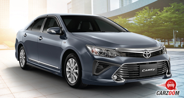 Camry front grey