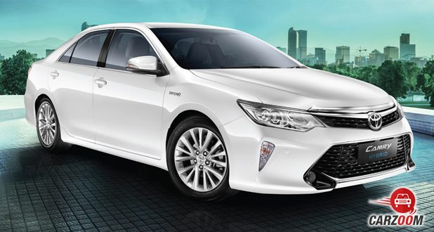 Camry front silver