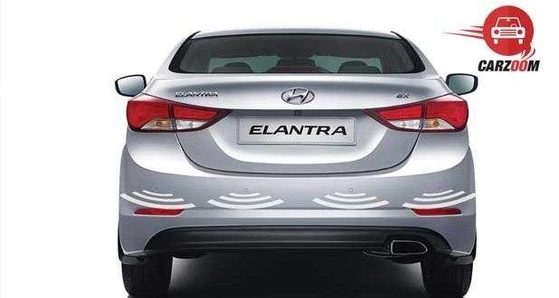 Refreshed Hyundai Elantra Exteriors Back View