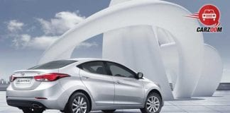 Refreshed Hyundai Elantra Exteriors Back and Side View